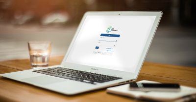 BPS Assessment login screen on laptop